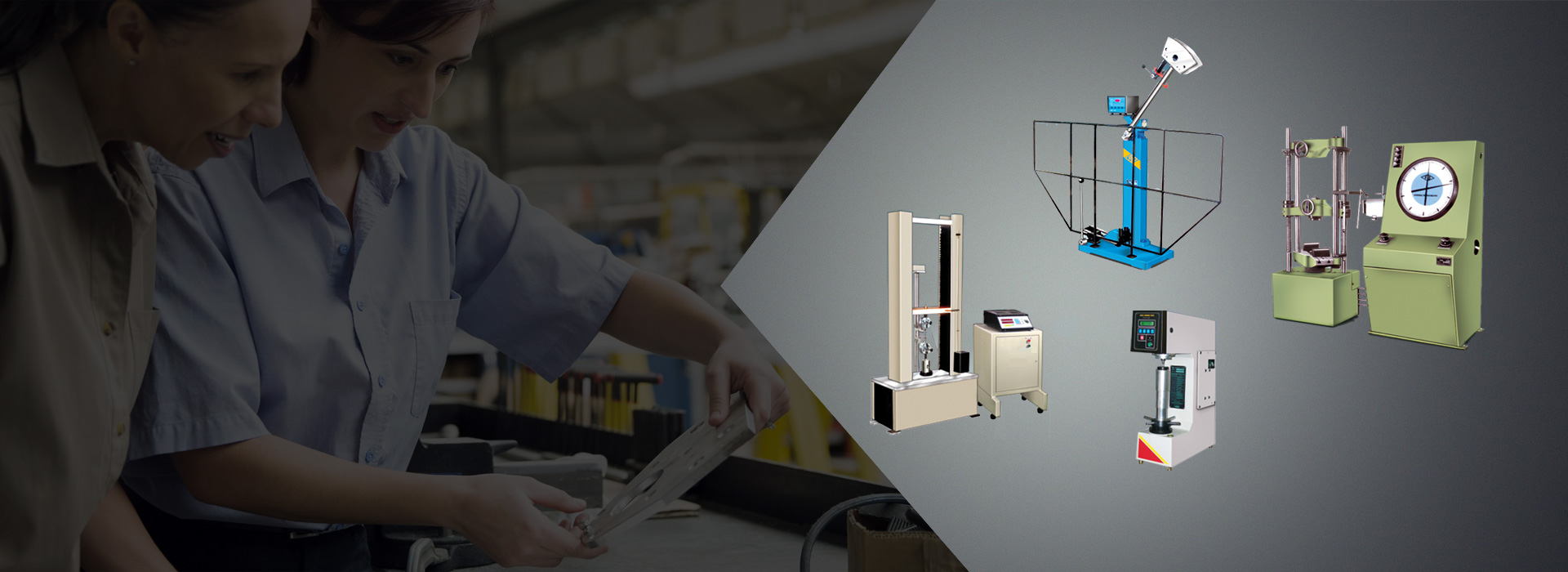 material testing machines services all over India